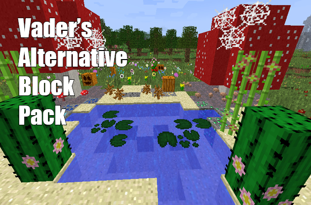 02554  Alternative block resource pack [1.9.4/1.9] [16x] Alternative Block Texture Pack Download