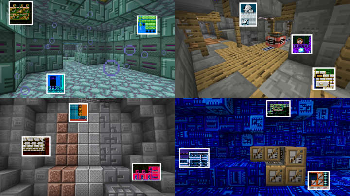 13e4c  Megacraft classic resource pack 4 [1.9.4/1.9] [16x] Megacraft Classic Texture Pack Download