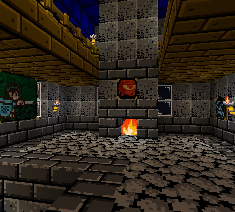 16006  Retro nes resource pack 7 [1.9.4/1.9] [16x] Retro NES Texture Pack Download