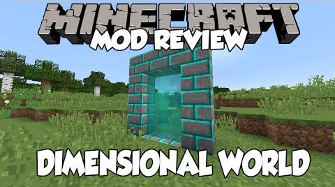 1f53f  Dimensional World Mod [1.10.2] Dimensional World Mod Download