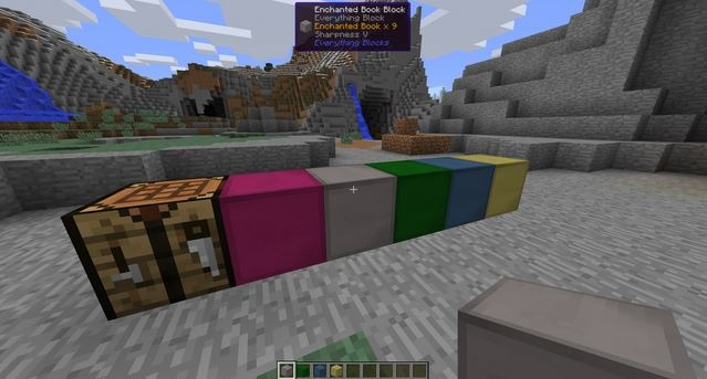 5f195  Everything Blocks Mod 2 [1.9] Everything Blocks Mod Download