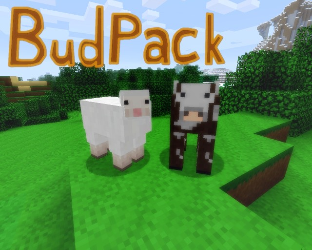 712dd  Budpack resource pack 2 [1.9.4/1.9] [16x] BudPack Texture Pack Download