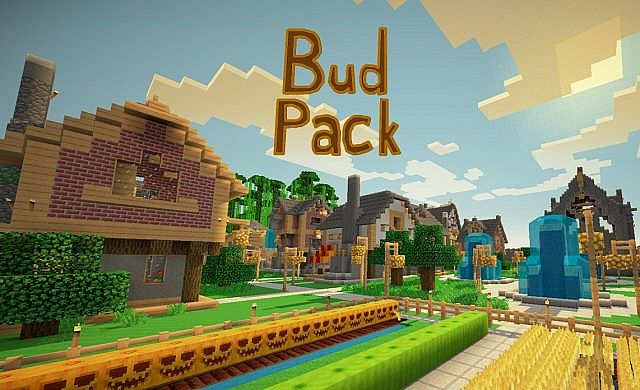 712dd  Budpack resource pack [1.9.4/1.9] [16x] BudPack Texture Pack Download
