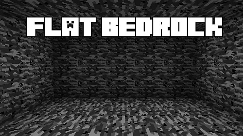 80fdf  Flat Bedrock Mod [1.10.2] Flat Bedrock Mod Download