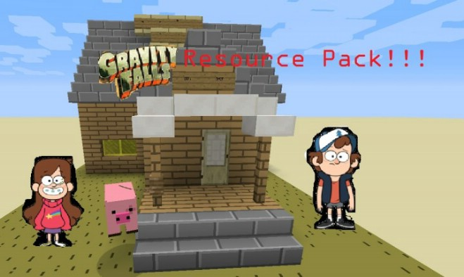 aa309  Gravity falls resource pack [1.9.4/1.9] [16x] Gravity Falls Texture Pack Download