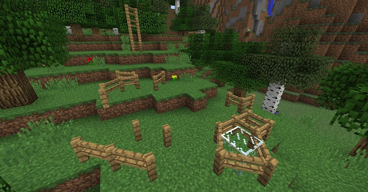 7709c  Fence Overhaul Mod 1 [1.8.9] Fence Overhaul Mod Download