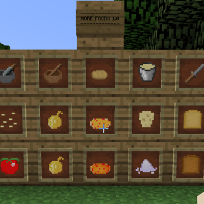 9e678  More Foods Mod 1 [1.8.9] More Foods Mod Download