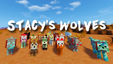c4098  Stacys Wolves Mod [1.7.10] Stacy's Wolves Mod Download