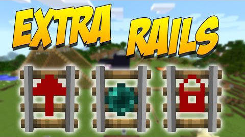 028d0  Extra Rails Mod [1.10.2] Extra Rails Mod for Minecarft Download