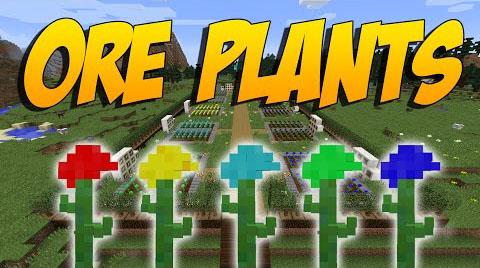 Ore Plants Mod