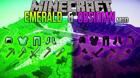 410a2  Emerald Obsidian Mod [1.7.10] Emerald & Obsidian Mod Download