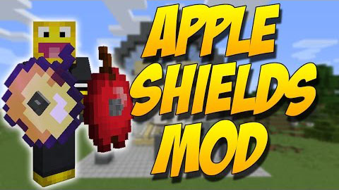 55884  Apple Shields Mod [1.10.2] Apple Shields Mod Download