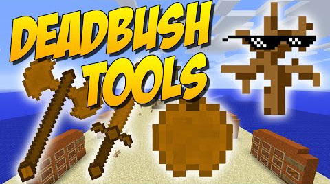 82594  Deadbush Tools Mod [1.8] Deadbush Tools Mod Download