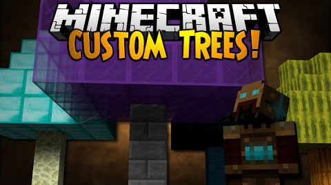 88ed5  Custom Trees Mod [1.7.10] Custom Trees Mod Download