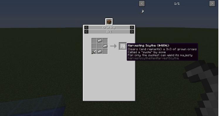 a333a  Harvester Scythe Mod 5 [1.10.2] Harvester Scythe Mod Download
