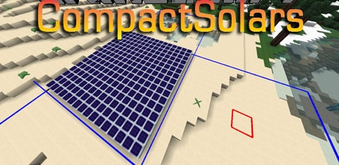 b7d51  CompactSolars Mod [1.10.2] CompactSolars Mod Download
