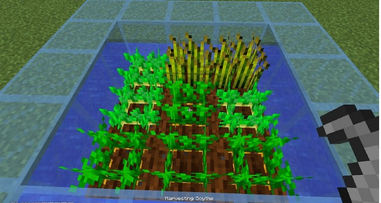 d58b1  Harvester Scythe Mod 1 [1.10.2] Harvester Scythe Mod Download