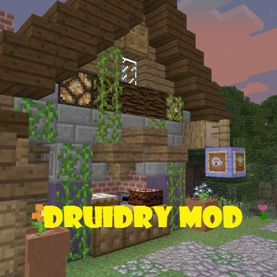 08125  Druidry Mod [1.9.4] Druidry Mod Download
