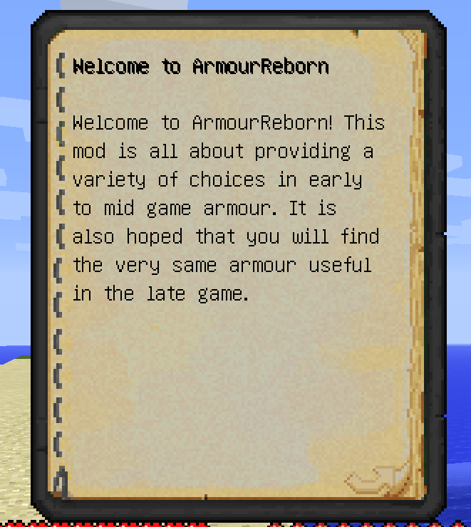 1e905  Armour Reborn Mod 3 [1.10.2] Armour Reborn Mod Download