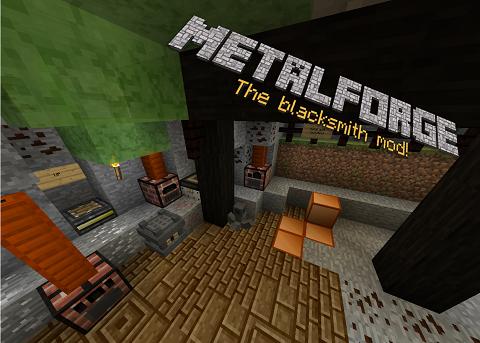33334  Metalforge Mod [1.7.10] Metalforge – The Blacksmith Mod Download