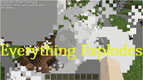 86184  Everything Explodes Mod [1.10.2] Everything Explodes Mod Download