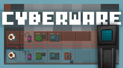 de50d  Cyberware Mod [1.10.2] Cyberware Mod Download