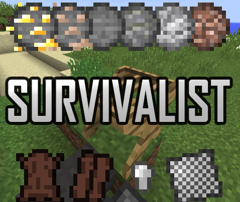 f00ed  Survivalist mod [1.10.2] Survivalist Mod Download