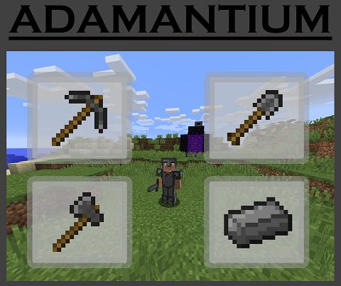 f1137  Adamantium Mod [1.8.9] Adamantium Mod Download