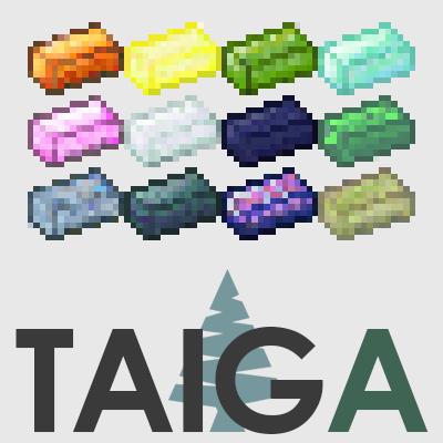 fc4b3  Taiga Mod [1.10.2] TAIGA Mod Download