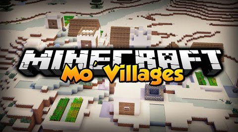 088d2  Mo Villages Mod [1.11] Mo' Villages Mod Download