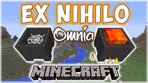 21388  Ex Nihilo Omnia Mod [1.10.2] Ex Nihilo Omnia Mod Download