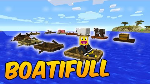 4dab0  Boatifull Mod [1.10.2] Boatifull Mod Download