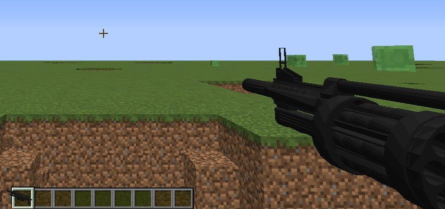 мод который добавляет кучу огнестрельного оружия для майнкрафт #6