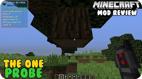 abd80  The One Probe Mod [1.11] The One Probe Mod Download