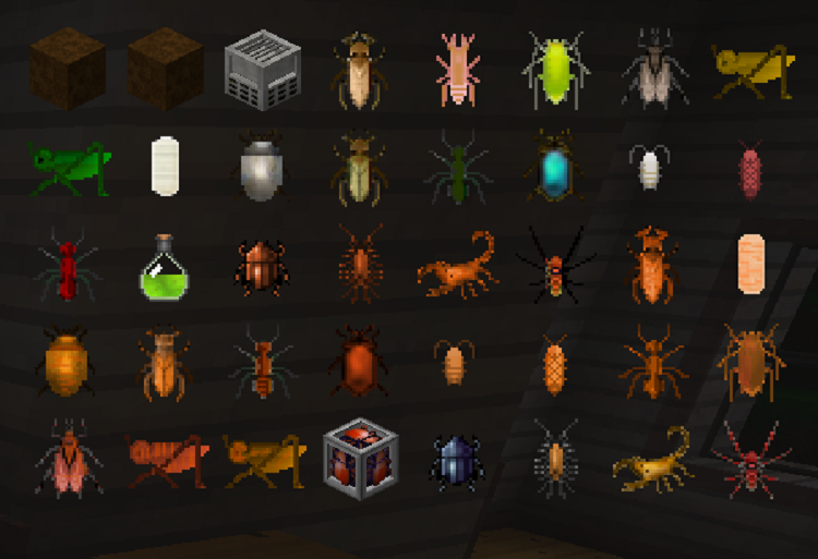 c584a  Edible Bugs Mod 4 [1.9.4] Edible Bugs Mod Download