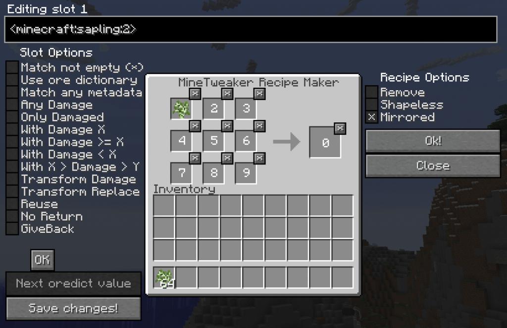 28a1d  uITqV9r 1024x662 [1.10.2] MineTweaker RecipeMaker Mod Download