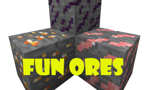 83e99  Fun Ores [1.9.4] Fun Ores Mod Download