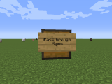[1.7.10] Passthrough Signs Mod Download