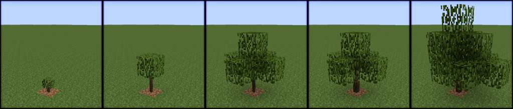 Growing Trees Mod 6