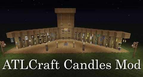 fe1d2  ATLCraft Candles Mod [1.10.2] ATLCraft Candles Mod Download