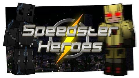 25064  Speedster Heroes Mod [1.8.9] Speedster Heroes (The Flash) Mod Download