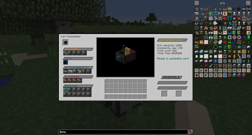 d279f  img2 1 1024x548 [1.10.2] Steve's Carts Reborn Mod Download