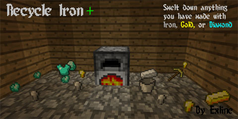 fa03f  Recycle Iron Mod [1.11] Recycle Iron Mod Download