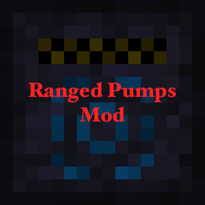 Ranged Pumps Mod for Minecarft 1.11/1.10.2