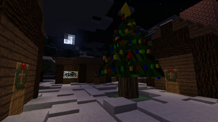 Christmas Minecraft Decorations.1 7 10 Decoratable Christmas Trees Mod Download Minecraft