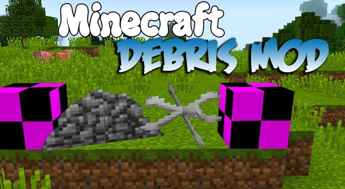 51bc4  Debris Mod [1.10.2] Debris (Rubble and Bone Piles) Mod Download