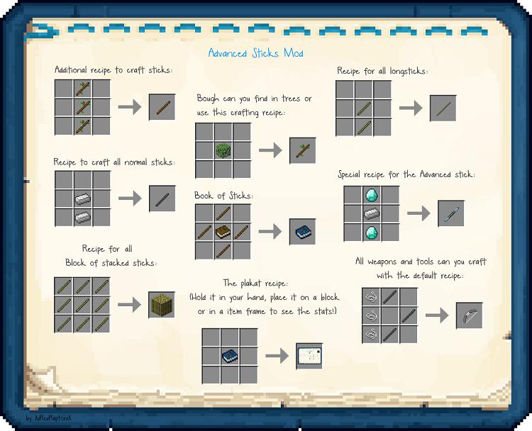 1.11.2] Advanced Sticks Mod Download | Minecraft Forum