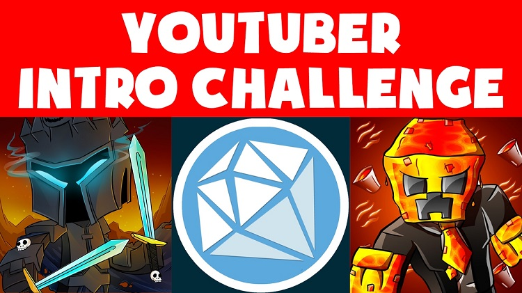 Youtuber Intro Challenge Map Logo