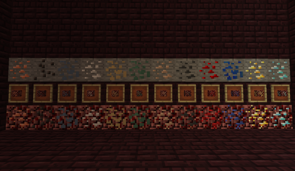 0ce2b  j0T4SMs 1024x595 [1.10.2] Nether Metals (Addon) Mod Download