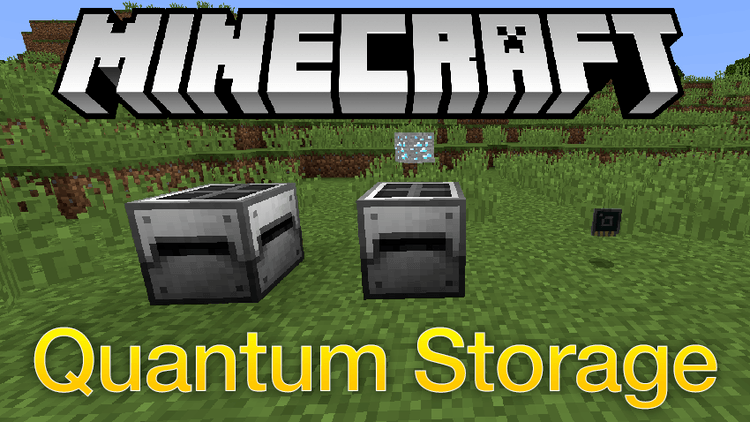 Quantum Storage mod for minecraft logo